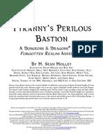 SPEC2-2 P3 Tyrannys Perilous Bastion