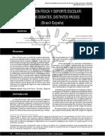 Educación Física y Deporte Escolar Mismos Debates, Distintos Países-Pirolo y Vaconcellos-2003