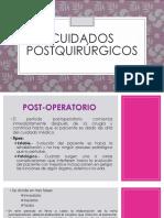 Cuidados postquirúrgicos2