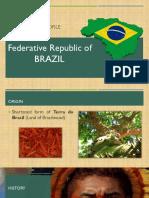 Country Profile - Brazil