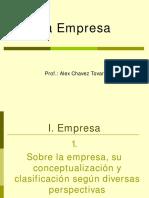 4. La Empresa