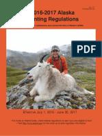 Alaska 2016 Hunting Regulations