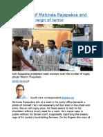 Phantoms of Mahinda Rajapaksa and Sri Lanka.docx