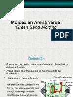 Moldeo Arena Verde