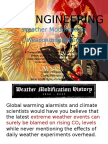 Geoengineering, Weather Modification, and Weaponizing Nature by Jim Lee ClimateViewer News - December 3, 2016