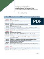 STTP Schedule