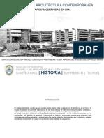 Postmodernidad Europa y Perú.