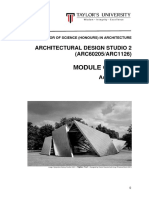 architectural studio 2  arc60205 arc1126  - module outline - august 2016