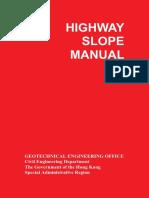 Highway Slope Manual