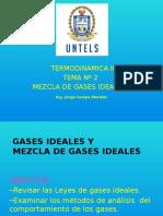 Termodinamica II Mezcla de Gasesideales