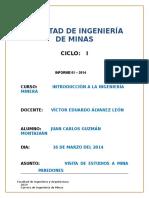 Informe Visita de Estudios -