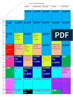 time management map  1