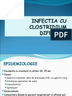 Infectia Cu Clostridium Difficile