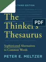The Thinker's Thesaurus (3rd Edition) - Peter E. Meltzer