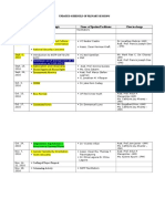 Updated Schedule of Plenary Sessions as of Sept 9, 2016