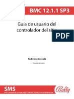 BMC 12.1.1 SP3 Site Controller User Guide - Spanish