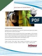 1500 Infinova Cameras Watch Over Instanbul Metro