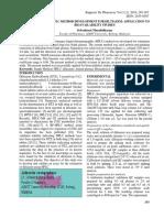 SIMPLE HPLC METHOD DEVELOPMENT FOR DILTIAZEM
