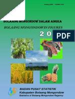 Bolaang Mongondow Dalam Angka 2015