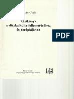 Dékány Judit- Kézikönyv a Diszkalkulia felméréséhez és terápiájához
