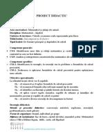 Proiect Descompunerea in Factori