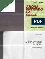 Ahora Entiendo La Biblia - Gerhard Lohfin x Brossa
