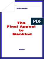 Levashov, Nicolai - The Final Appeal to Mankind - 2