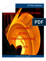 Ankita Kardile- Metallurgical Aspects of Cr-Mo Steels