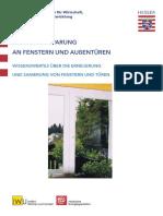 1 Energieeinsparung Fenster & Türen