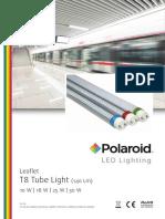 Polaroid-Leaflet - T8 Tube 140Lm Eng