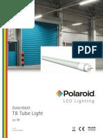 Polaroid-Leaflet - T8 Tube Deu
