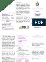 Ns3 Brochure