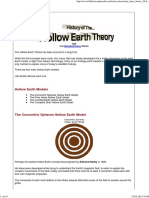 History of the Hollow Earth Theory