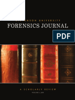 Forensic Journal 2010