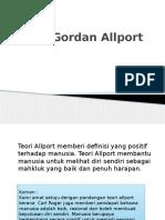 Teori Gordan Allport