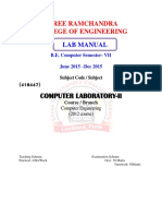 Cl-II Lab Manual