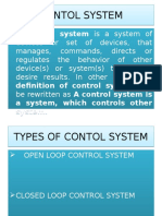 Control System PPT