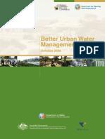 Better Urban Water Management