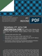 Pt Holcim Indonesia Tbk