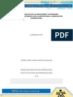 Informe de Analisis de Los Indicadores y Estandares Proyectados y Pertinencia