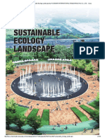 Sustainable Ecology Landscape by Hi-Design International Publishing (Hk) Co., Ltd