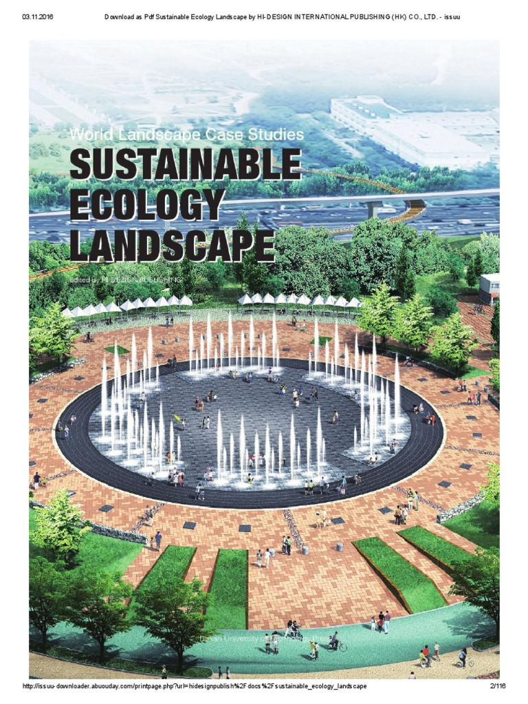 Download as Pdf Sustainable Ecology Landscape by HI-DESIGN ...