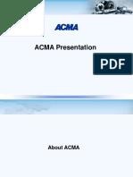 ACMA Presentation