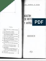 DISCURSO - LA RESTAURACIÓN CONSTITUCIONAL DE 1867