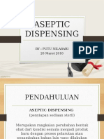 Aseptic Dispensing 2