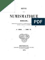 Quelques monnaies rares et inédites du Brabant et de ses fiefs / [Vte B. de Jonghe]