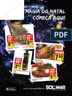 Folheto de Natal 2016 das Lojas SOL*MAR