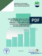 IV Censo Nacional Agropecuario Tomo III