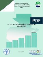 IV Censo Nacional Agropecuario Tomo V