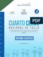 Informe Ejecutivo CensoNacional 2015